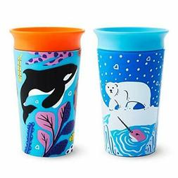 Munchkin Miracle 360 WildLove Sippy Cup, 9 Ounce, 2