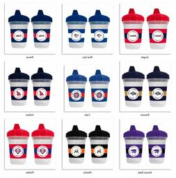 MLB 5oz Spill Proof Sippy Cups 2-Pack by baby fanatic -Selec