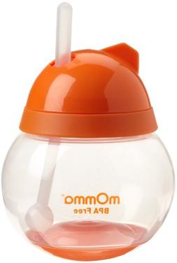 Lansinoh mOmma Straw Cup, Orange