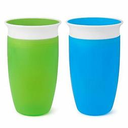 munchkin miracle 360 sippy cup green blue