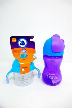 Philips Avent My Bendy Straw Cup  & My Little Sippy Cup