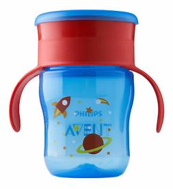 Philips Avent My First Big Kid Cup Blue/Red 9m+ 360 degree B