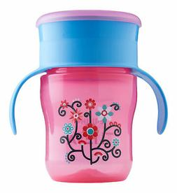 Philips Avent My First Big Kid Cup Pink/Blue 9m+ 360 degree
