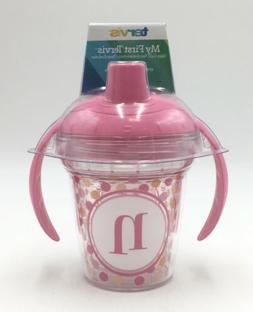 """My First Tervis Sippy Cup **NEW**  Pink with """"N"""" initial"""