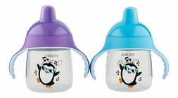 Philips Avent My Little Sippy Cup Purple & Teal 9 oz. Sippy