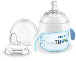 Philips Avent My Natural Trainer 5oz Sippy Cup, NEW