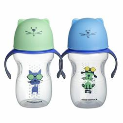Tommee Tippee Natural Transition Soft Spout Sippy Cup, Boy -