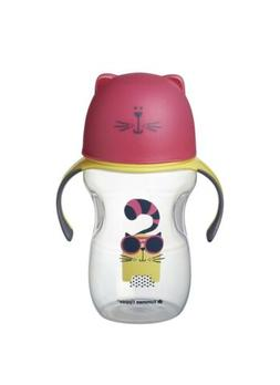 Tommee Tippee Natural Transition Soft Spout Sippy Cup dog bl