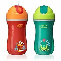 Chicco NaturalFit Insulated FlipTop Straw Sippy Cup in Assor