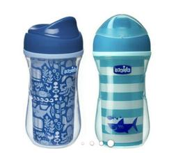 Chicco NaturalFit Insulated Rim Spout Trainer Sippy Cup, in