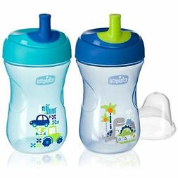 Chicco NaturalFit Straw Trainer Sippy Cup, in Assorted Color