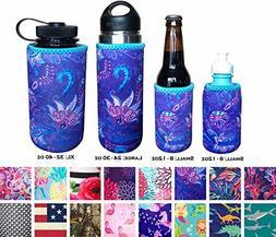 Koverz Neoprene 24-30 oz Water Bottle Insulator, Water Bottl