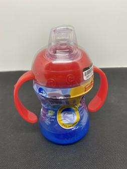 New Nuby 6-Pack Two-Handle No-Spill 360 Grip N' Sip Cups, 8