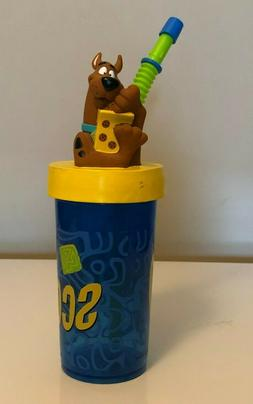 NEW Kids Scooby Doo Sippy Cup with Straw NEW