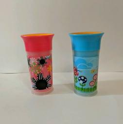 NEW Sassy No Spill 9oz BPA Free Sippy Cup Spoutless Insulate