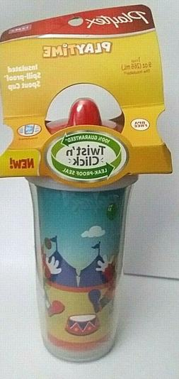 NEW Playtex PLAY TIME Insulated Spout Sippy Cup 9 Oz BPA FRE