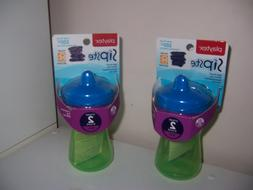 NEW Playtex sipsters stage two 2 sippy cups new