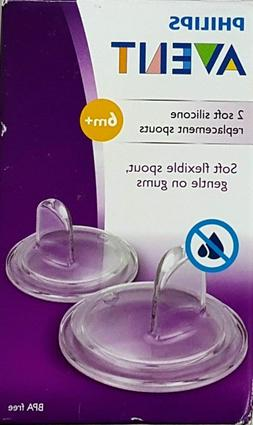 NEW - Philips Avent Replacement Cup Spout - Soft Silicone -