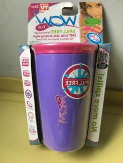 New * Sealed Package * WOW Cup for Kids SPILL FREE Drinking