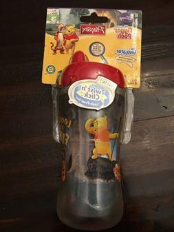 New Playtex Sippy Cup Twist Click Disney Winnie The Pooh Lea