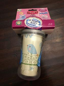 New Playtex Sippy Cup Twist 'n Click Disney Princess Leak Sp