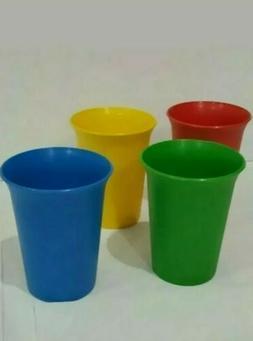New Tupperware Sippy Kids Tumblers Cups Rainbow Set 4 Bevera