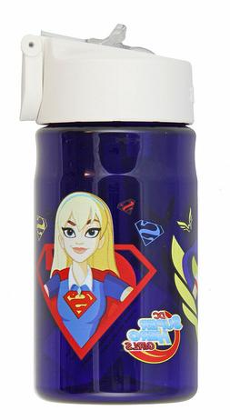 NEW Super Hero Girls Thermos 12 Ounce Tritan Hydration Bottl