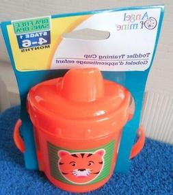 NEW Tiger Sippy Sippie Cup Training Cup Stage 1 4 6 months B