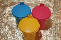 New Vintage Style Tupperware Beautiful Multi Color Kids Sipp