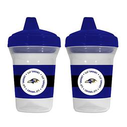 Baby Fanatic NFL Baltimore Ravens Baby Fanatic 2-Pack Sippy