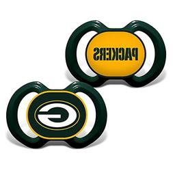 Baby Fanatic NFL Team Pacifier 2 Pack Green Bay Packers - St