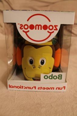 nib Zoomoos Bobo Fun Meets Functional Monkey Sippy Cup & Ado