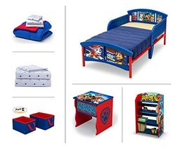 Nick Jr. PAW Patrol Toddler Room Set, 6 Piece