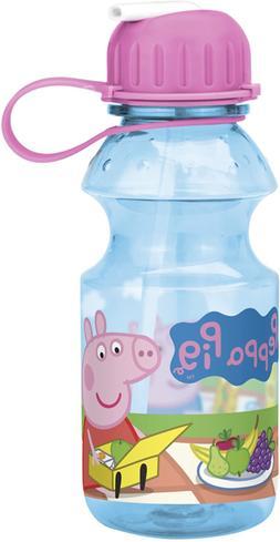 Nick Jr. Pepa-K870 Peppa Pig Water Bottles 14 Oz. By Zak Des