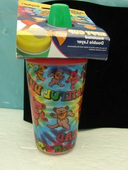 NIP Grateful Dead Sippy Cup 10 oz Leak Proof Locking Lid