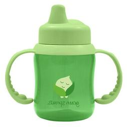 green sprouts Non-spill Sippy Cup | One-way valve for easy t