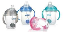 Nuby 360° Grip N' Sip No Spill Sippy Cup - 4+ Months - BPA
