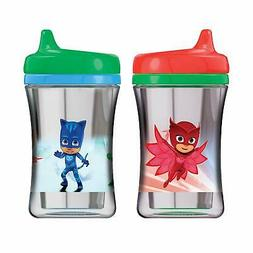 NUK Insulated Sippy Cup, PJ Masks, 9oz 2pk