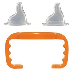 Orange, Conversion/Replacement Kit with 2 Silicone Spouts