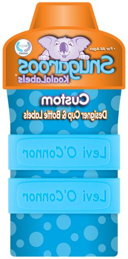 PACK of 2 Personalized Baby Bottle Labels & Sippy Cup Labels