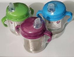 Parents Choice 2-Handle Sippy Cup Stainless Steel Stage 2 in