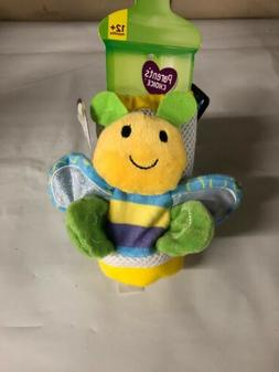 Parents Choice Sippy Cup Colorful Bumble Bee Lanyard New 12+