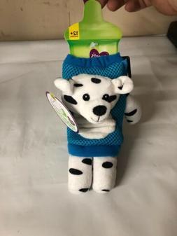 parents choice sippy cup dalmatian lanyard new