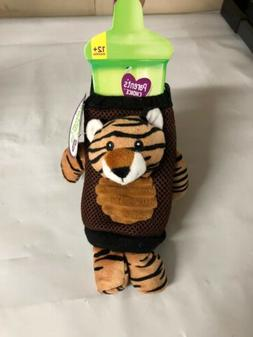Parents Choice Sippy Cup Tiger Lanyard New 12+ Months