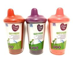 PARENT'S CHOICE SIPPY CUPS Girls/Unisex 3 Pack NEW SEALED