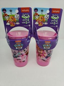 Paw Patrol 360 Spoutless Sippy Cup 2 Piece Cup 10 Oz BPA Fre