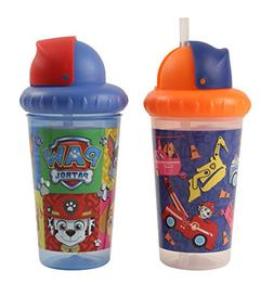 Nickelodeon PAW Patrol Boys 2 Piece Pop Up Straw Infants Sip