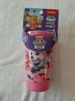 Paw Patrol Pink Playtex Spoutless Cups 10oz Stage 2 Girls 12