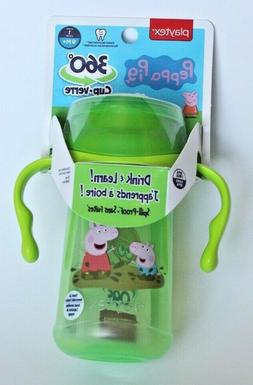 Playtex peppa pig 360 Sippy cup new 9+m 10oz  🚛Free Shipp