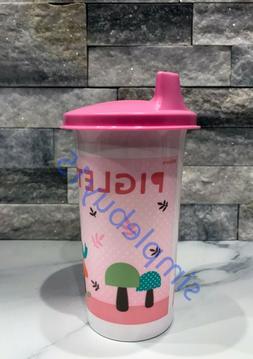 Tupperware Piglet 10.5oz Tumbler BPA Free Sippy Cup